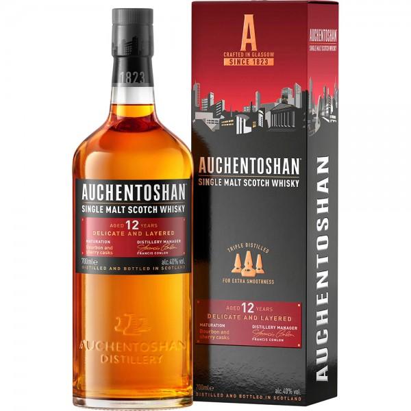 Auchentoshan 12 Jahre Single Malt Scotch Whisky 0,7l