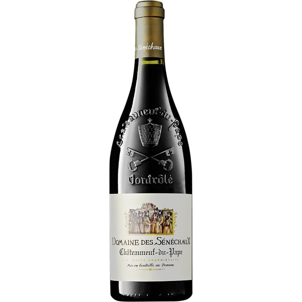 Domaine des Sénéchaux Rouge Châteauneuf-du-Pape 0,75Ltr. Flasche 15% Vol. 2016