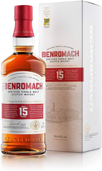 Benromach 15 Jahre 0,70l
