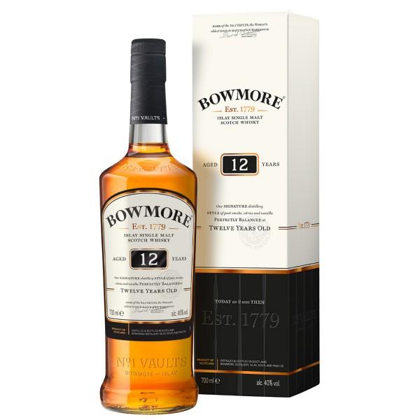 Bowmore 12 Jahre Single Malt Whisky 0,70l