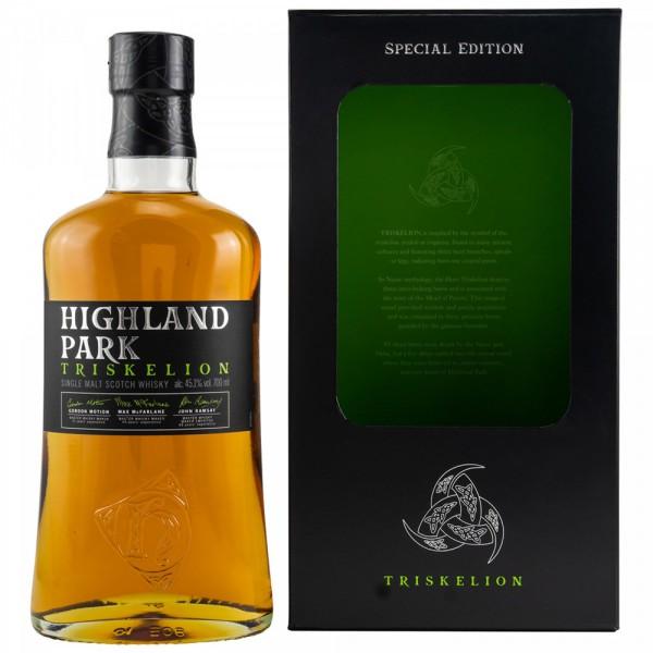 Highland Park Triskelion 0,70l 45,1% Vol.- !! Karton beschädigt !!