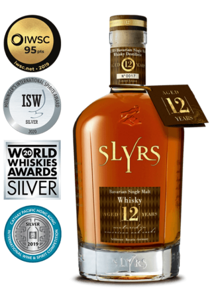 SLYRS Single Malt Whisky Aged 12 Years 43% vol.