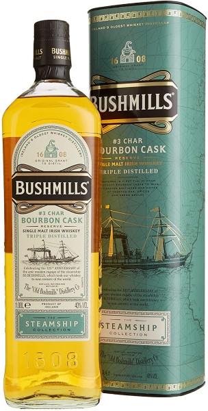 Bushmills Steamship Collection No. 3 Char Bourbon Cask Reserve Triple Distilled 1,00l