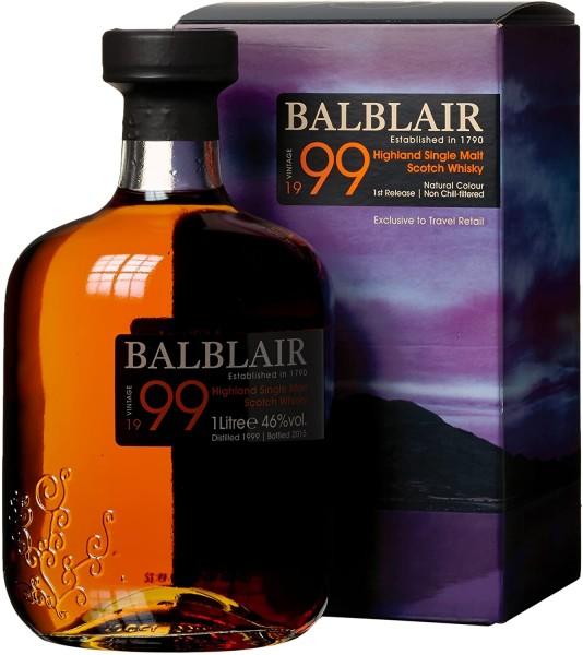 Balblair 1999 0,75l Flasche 46% Vol.
