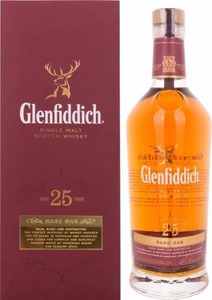 Glenfiddich 25 Jahre Rare Oak 0,70l