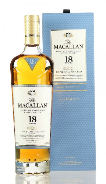 Macallan Fine Oak Triple Cask 18 Jahre 0,70l Edition 2018
