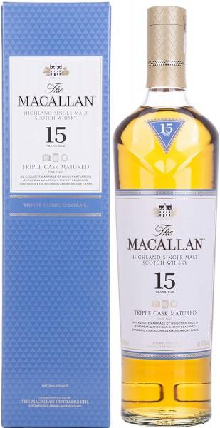 The Macallan Fine Oak Triple Cask 15 Jahre