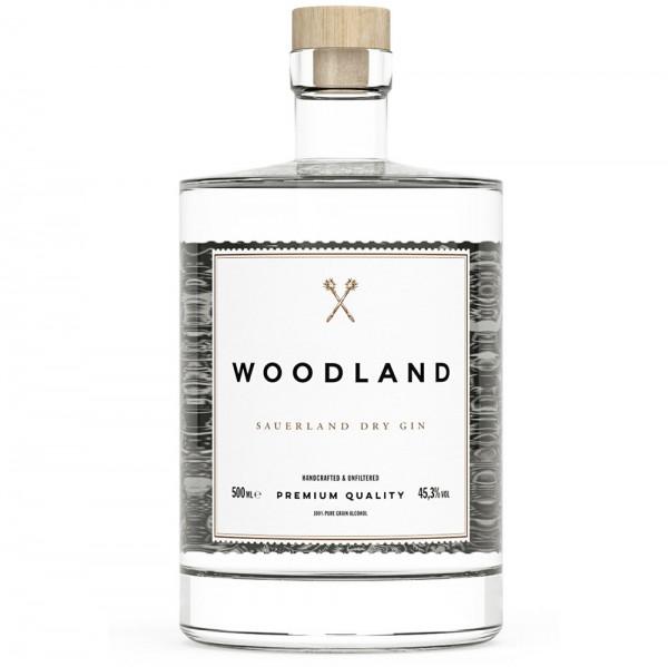 Woodland Sauerland Dry Gin 0,50l 45,3% Vol.