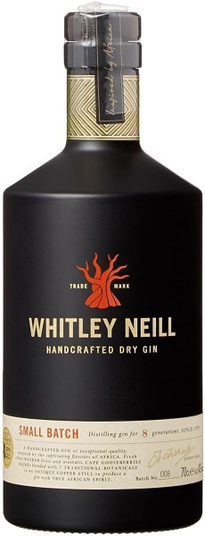 Whitley Neill London Dry Gin 1,0 Liter