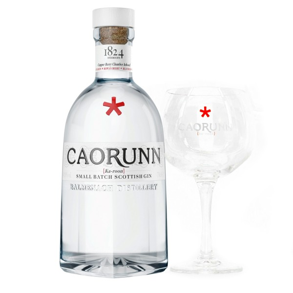 Caorunn Bundle mit Glas Scottish Dry Gin 0,7l