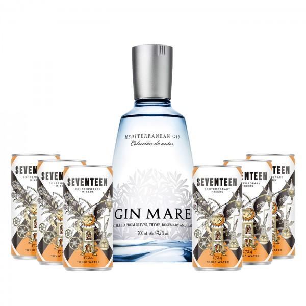 Gin Mare Bundle Mediterranean Gin mit 6 x 1724 Tonic