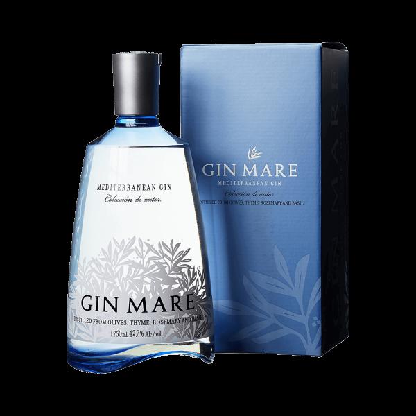 Gin Mare Mediterranean Gin 1,75 Liter Magnumflasche in Geschenkpackung